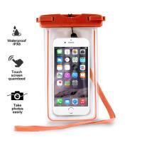 """PURO Waterproof Case - Nieprzemakalne etui smartphone/phablet max. 5.7"""" (pomarańczowy)"""
