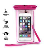"PURO Waterproof Case - Nieprzemakalne etui smartphone/phablet max. 5.7"" (różowy)"