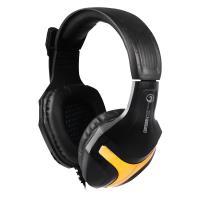 Marvo H8630 - Słuchawki stereofoniczne dla graczy z mikrofonem (czarny/złoty)