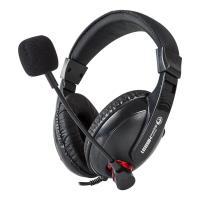 Marvo H8631 - Słuchawki stereofoniczne dla graczy z mikrofonem (czarny/czerwony)