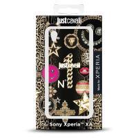 JUST CAVALLI Leo Star Cover MFX - Etui Sony Xperia XA (Black)