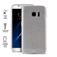 PURO Glitter Shine Cover - Etui Samsung Galaxy S7 (Silver)