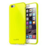 Laut HUEX NEON - Etui iPhone 6s / iPhone 6 z 2 foliami na ekran w zestawie (żółty)