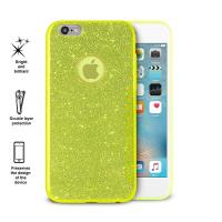 PURO Glitter Shine Cover - Etui iPhone 6s / iPhone 6 (Lime Green)