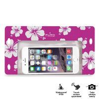 """PURO Waterproof Bag - Nieprzemakalne etui smartphone/phablet max. 5.7"""" (różowy)"""