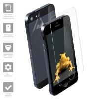 Wrapsol Hybrid - Hartowane szkło 9H + folia na obudowę do iPhone SE / iPhone 5s / iPhone 5