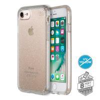 Speck Presidio Clear with Glitter - Etui iPhone 7 (Gold Glitter/Clear)