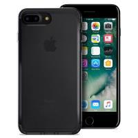 PURO 0.3 Nude - Etui iPhone 8 Plus / 7 Plus (czarny przezroczysty)
