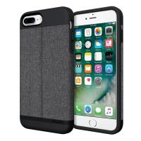 Incipio Esquire Series Wallet Case - Etui iPhone 7 Plus z kieszenią na kartę (Heather Dark Gray)