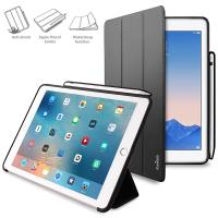 "PURO Zeta Pro - Etui iPad Pro 9.7""/Air 2 w/Magnet & Stand up + Pencil Holder (czarny)"