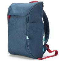 "Booq Daypack - Plecak MacBook 12"" / MacBook Air 13"" / MacBook Pro 13"" / MacBook Pro 15"" / Ultrabook 13""-16"" (Navy-Red)"