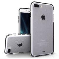 Zizo Pulse - Etui iPhone 7 Plus (przezroczysty/czarny)