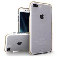 Zizo Pulse - Etui iPhone 8 Plus / 7 Plus (przezroczysty/złoty)