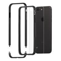 Moshi Luxe - Aluminiowy bumper iPhone 8 Plus / 7 Plus (Black)