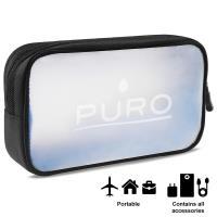 PURO Clear - Organizer na akcesoria elektroniczne (przezroczysty)