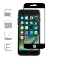 Moshi IonGlass - Szkło ochronne na ekran do iPhone 8 Plus / 7 Plus / 6s Plus / 6 Plus (Black)