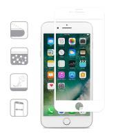 Moshi IonGlass - Szkło ochronne na ekran do iPhone 8 Plus / 7 Plus / 6s Plus / 6 Plus (White)