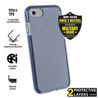 PURO Impact Pro Flex Shield - Etui iPhone 8 / 7 (granatowy)