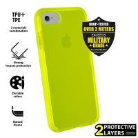 PURO Impact Pro Flex Shield - Etui iPhone 8 / 7 (limonkowy)
