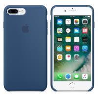 Apple Silicone Case - Silikonowe etui iPhone 7 Plus (oceaniczny błękit)