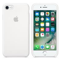 Apple Silicone Case - Silikonowe etui iPhone 7 (biały)