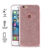 PURO Glitter Shine Cover - Etui iPhone 6s / iPhone 6 (Rose Gold)