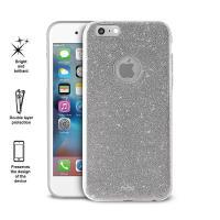 PURO Glitter Shine Cover - Etui iPhone 6s / iPhone 6 (Silver)