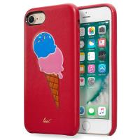 Laut KITSCH - Etui iPhone 8 / 7 z 2 foliami na ekran w zestawie (Sprinkles Red)