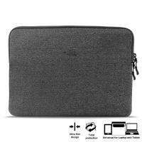 """PURO Uni Slim Secure Sleeve - Pokrowiec MacBoook 12"""" / Ultrabook 12"""" (szary)"""
