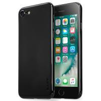 Laut SLIMSKIN - Etui iPhone 8 / 7 z 2 foliami na ekran w zestawie (Jet Black)