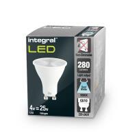 Integral żarówka LED GU10 PAR16 4W (35W) 5000K 290lm barwa biała zimna