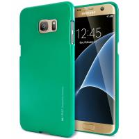 Mercury I-Jelly - Etui Samsung Galaxy S7 Edge (zielony)