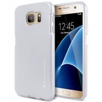 Mercury I-Jelly - Etui Samsung Galaxy S7 (srebrny)