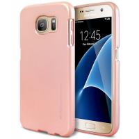Mercury I-Jelly - Etui Samsung Galaxy S7 (Rose Gold)