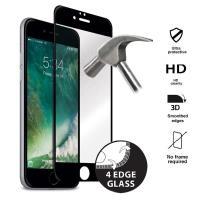Puro Premium Full Edge Tempered Glass - Szkło ochronne hartowane na ekran iPhone 8 Plus / 7 Plus (czarna ramka)