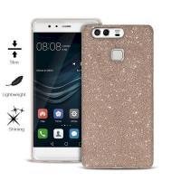PURO Glitter Shine Cover - Etui Huawei P9 (Gold)