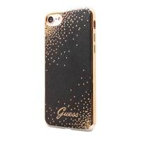 Guess Dots Soft Case - Etui iPhone 8 / 7 (czarny)
