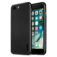Laut EXOFRAME - Etui iPhone 8 Plus / 7 Plus z aluminiową ramką z 2 foliami na ekran w zestawie (Jet Black)
