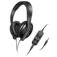 Sennheiser HD 65 TV - Zamknięte dynamiczne słuchawki stereo TV z niezależnymi kontrolerami poziomu głośności (czarny)
