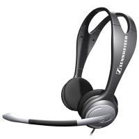 Sennheiser PC 131 -  Słuchawki nauszne stereo z regulowanym mikrofonem (czarny)