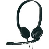 Sennheiser PC 3 CHAT - Słuchawki nauszne stereofoniczne z regulowanym mikrofonem (czarny)