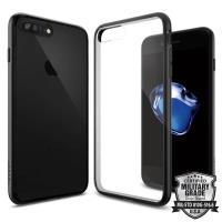 Spigen Ultra Hybrid - Etui iPhone 7 Plus (przezroczysty/czarny)
