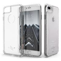 Zizo PIK Case - Etui iPhone 8 Plus / 7 Plus ze szkłem 9H na ekran (przezroczysty)