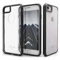 Zizo PIK Case - Etui iPhone 8 / 7 ze szkłem 9H na ekran (czarny)