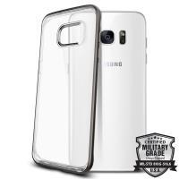Spigen Neo Hybrid Crystal - Etui Samsung Galaxy S7 edge (przezroczysty/Gun Metal)