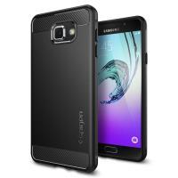 Spigen Capsule Ultra Rugged - Etui Samsung Galaxy A7 (2016) (czarny)