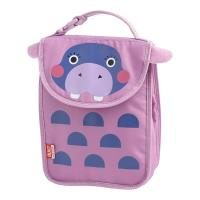 BUILT Big Apple Buddies Lunch Sack - Torebka na lunch (Hippo)