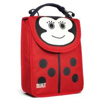 BUILT Big Apple Buddies Lunch Sack - Torebka na lunch (Lafeyette Ladybug)