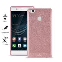 PURO Glitter Shine Cover - Etui Huawei P9 Lite (Rose Gold)