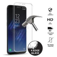 PURO Premium Full Edge Tempered Glass - Szkło ochronne hartowane na ekran Samsung Galaxy S8+